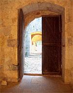Bild mit Tür