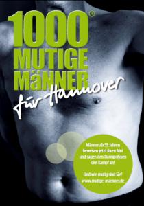 Darmkrebsvorsorge und -früherkennung - Hannover sucht 1000 mutige Männer