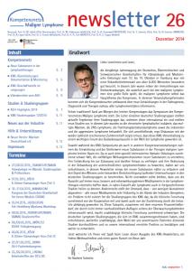 Newsletter_Kompetenznetz Maligne Lymphome