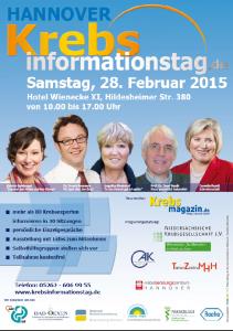 Plakat Krebsinformationstag 2015 Hannover_WEB