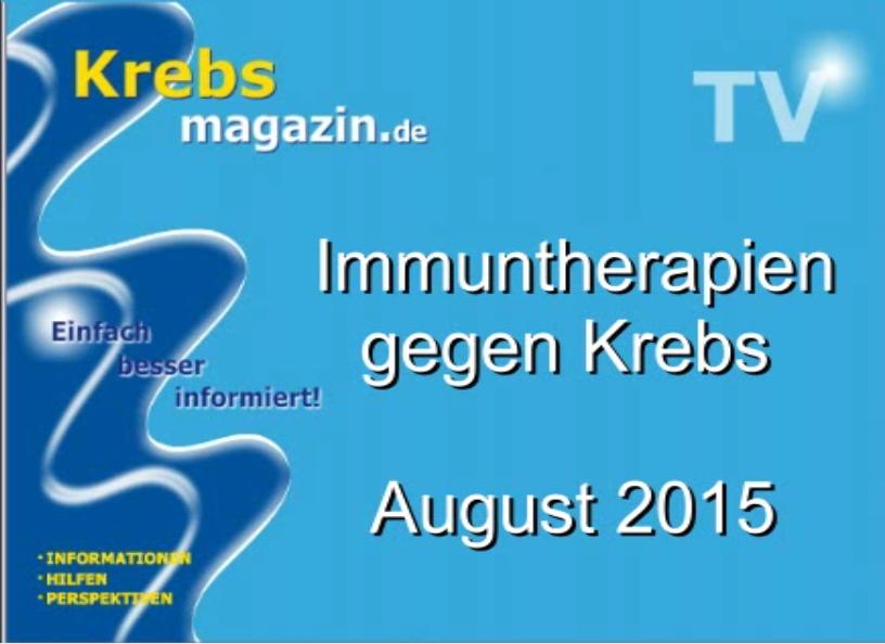 Einführung und Überblick über die neue Säule der Krebstherapie