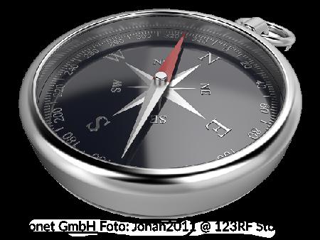 Compass_maconet GmbH Foto_johan2011_123RF Stockfoto